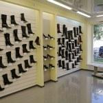 Modern shoe store — Stock Photo