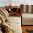 Sofa and little table — Stock Photo