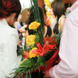 Stock Photo: Bright bouquet flowers