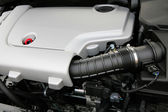 The powerful engine — Stock Photo