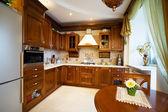 Modern and beautiful kitchen — Stock Photo
