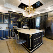 Foto Stock: Kitchen in modern apartment