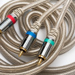 Stock Photo: Component video cable