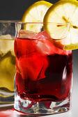 Cóctel, limón y hielo — Foto de Stock