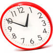 Clock per red case — Stock Photo #4543788