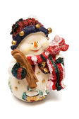 Figurine of a snowman — Stock Photo