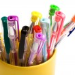 Stock Photo: Color pens