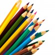 Beautiful color pencils — Stock Photo