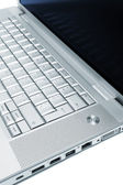 Stylish laptop — Stock Photo