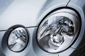 Oval headlights — Stock Photo