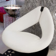 White leather armchair - Photo
