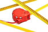 New tape-measure — Stock Photo