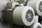 Electric motors — Stock Photo