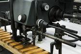 Stary sprzęt dla prasy — Zdjęcie stockowe