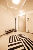Corridor with a door — Stock Photo