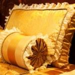 Yellow pillows — Stock Photo