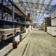 Stock Photo: Modern warehouse