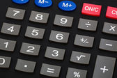 Modern calculator — Stock Photo