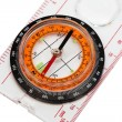 Stock Photo: Compass ruler