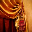 Stock Photo: Curtain with ornament