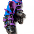 Stock Photo: Old roller skates