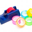 Stock Photo: Transparent adhesive tape