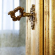 Golden key — Stock Photo