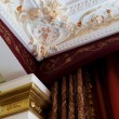 Stucco on the ceiling — Stock Photo