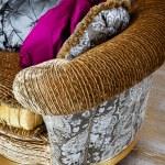 Beautiful soft cushions — Stock Photo