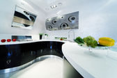 Fashionable kitchen — Stockfoto