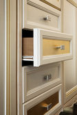 Cabinet with drawers — Stock Photo