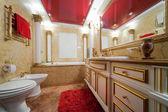 модные мраморная ванная комната — Стоковое фото