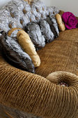 Fashionable sofa — Stock Photo