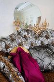 时尚沙发 — 图库照片