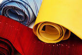 Ties convoluted close up — Stock Photo