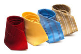 Bright and fashionable ties — Stock Photo