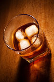 Glasses from whisky — Stock Photo