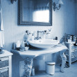 Stock Photo: Bathroom in apartment