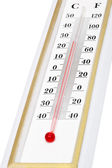 Thermometer close-up — Stock Photo