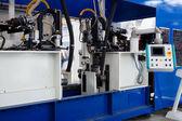Moderní kovové stroje — Stock fotografie