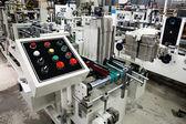 Control panel of the equipment — Stock Photo