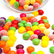 Candy in a glass jar — Stock Photo #5220178