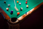 The pool table — Stock Photo