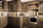 Krásná kuchyň — Stock fotografie