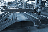 Modern metalworking plant — Stockfoto