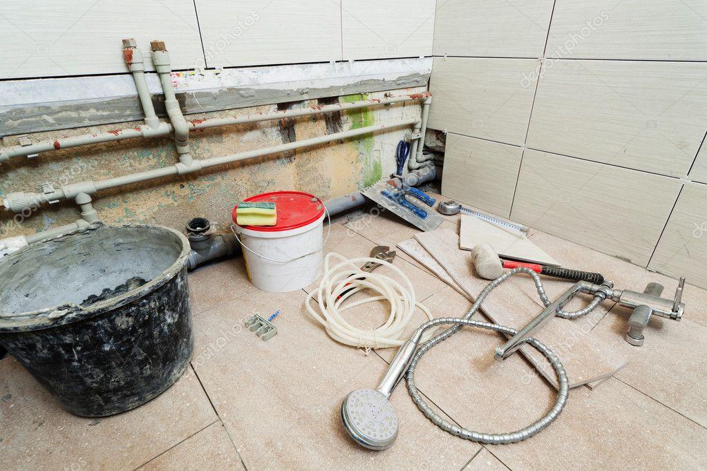Ремонт в ванной комнате своими руками с чего начать фото