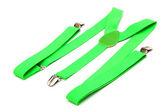 新绿色吊带 — 图库照片