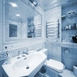 Modern bathroom — Stock Photo