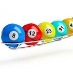 color bolas de billar — Foto de Stock
