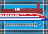 Transporte ferroviario — Foto de Stock